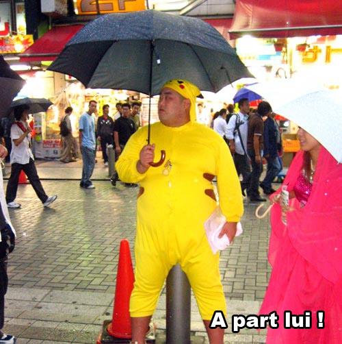 Cosplay moche pikachu