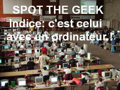 spot the geek