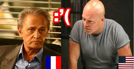 Série francaise vs série américaine