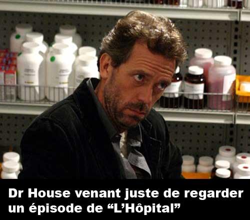 Dr House triste