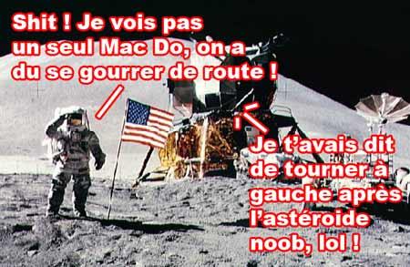 Premier homme sur la lune