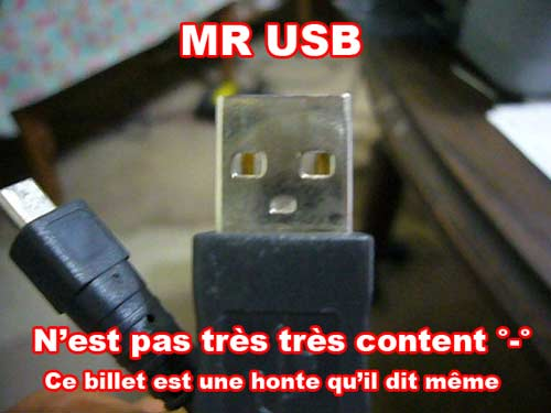 Mr clé usb