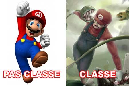 Mario classe/pas classe