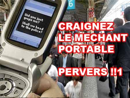 Téléphone anti pervers