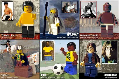 Lego célèbres