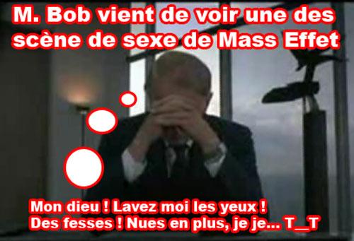 Mr bob est choqué