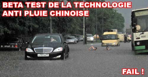 Technologie anti pluie