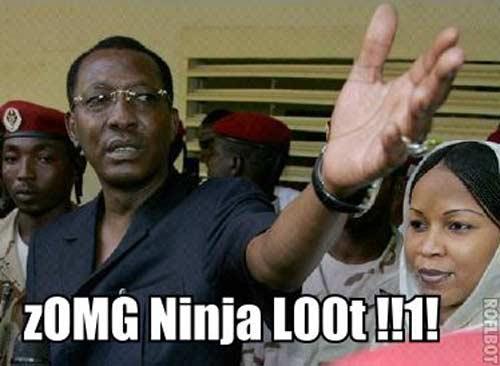 ninja loot