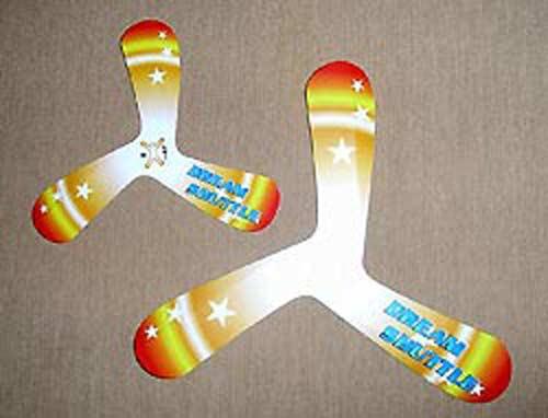 Boomerangs de l'espace