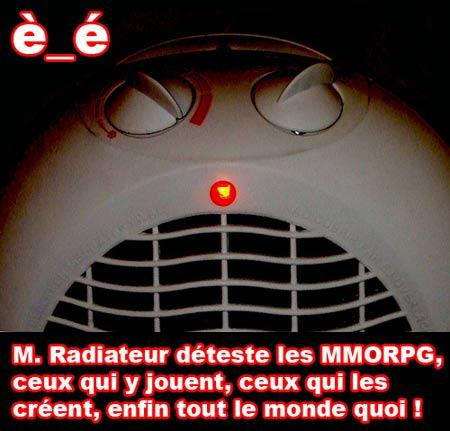 M. Radiateur