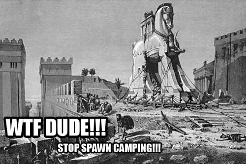 Stop camping