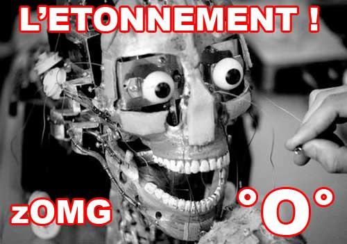 Robot qui fait peur