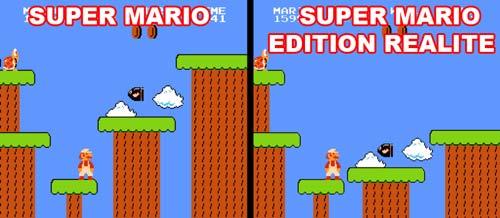 Jeux vidéo vs réalité