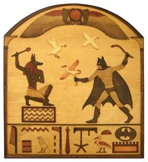 Batman hiéroglyphe