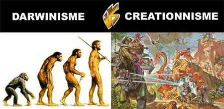 Darwinisme vs Creationnisme