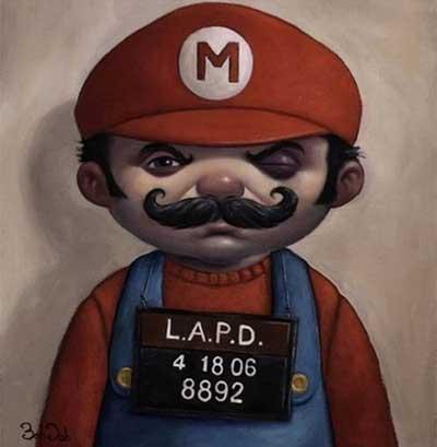 Mario mug shot