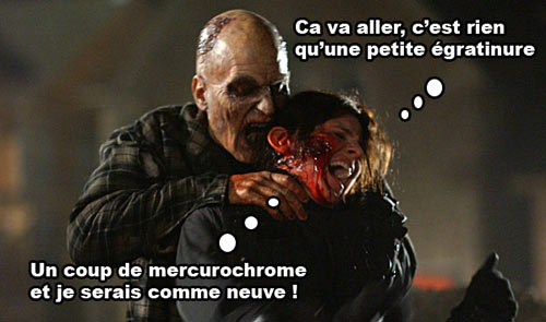 Cliché infecté film de zombie