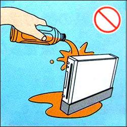 Hardcore Wii Message d'avertissement