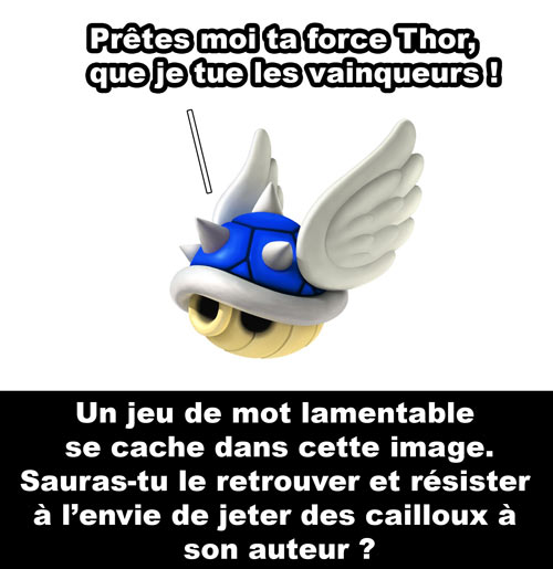 Super Mario Carapace bleue