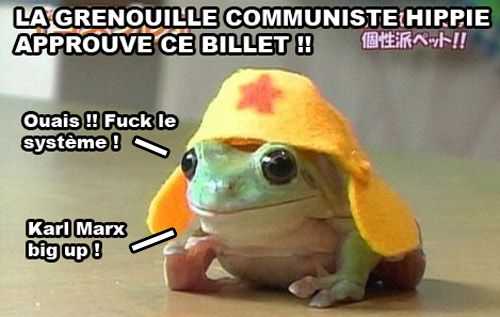 Grenouille communiste