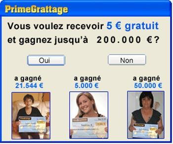 5 € gratuit