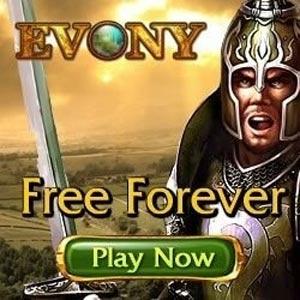 Evolution campagne pub evony