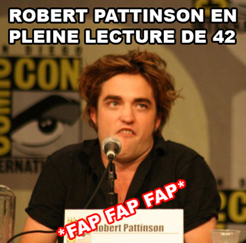 Robert Pattinson sponsor 42