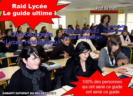 Guide stratégique raid lycée