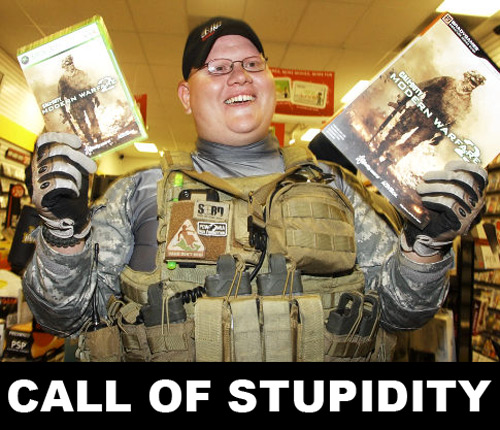 Call of stupidity