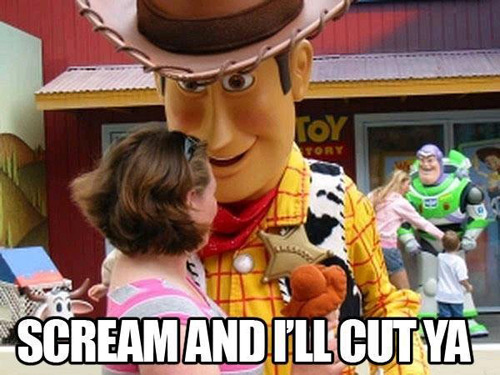 Toy story fear