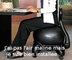 BalanceBall Chair