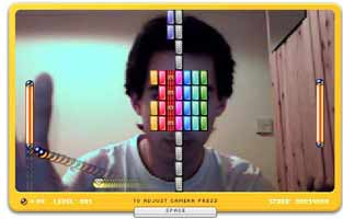 Arkanoid Webcam