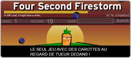 Four second firestorm