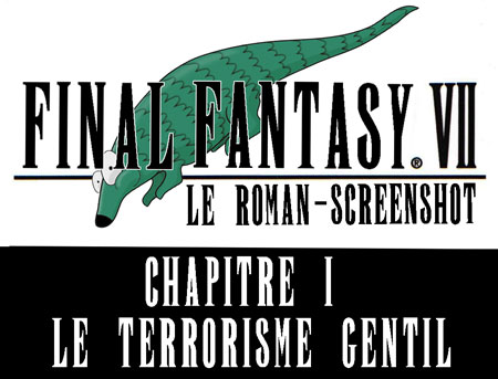 Final fantasy 7 le roman screenshot chapitre 1