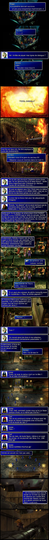 Final fantasy 7 : Cloud et Barret se séparent sans raison, Cloud est repéré par des soldats en plein Midgar