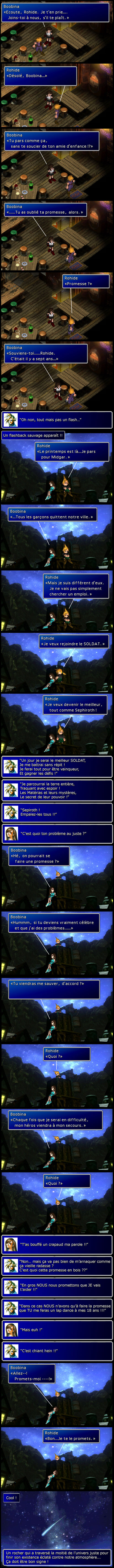 Final fantasy 7 : Flashback arnaque