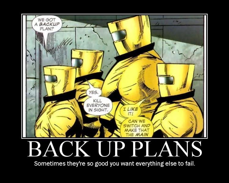 Les Super Images Back-up-plans
