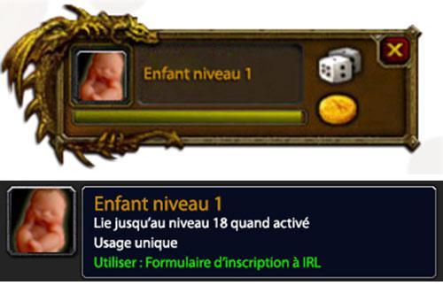 IRL - Guide de la quête légendaire Avoir un enfant