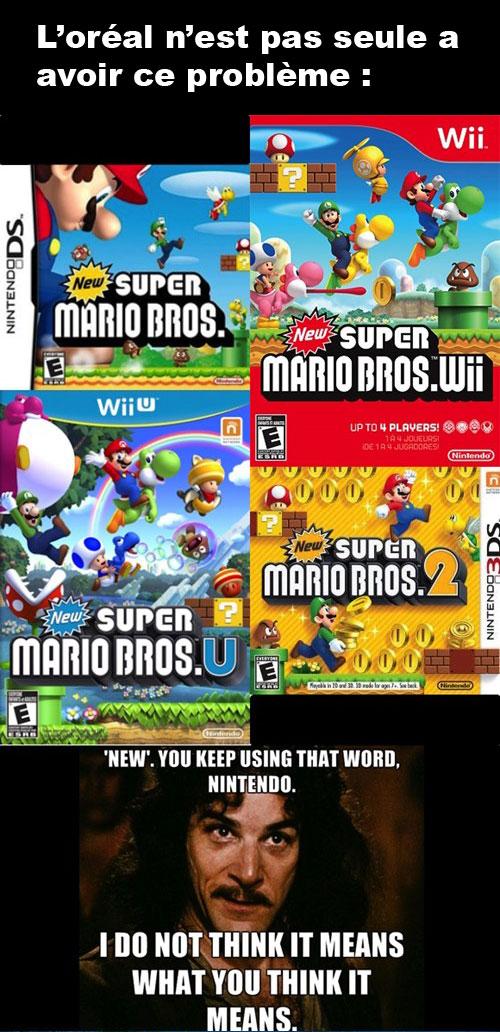 Publicité pourrie Nintendo New