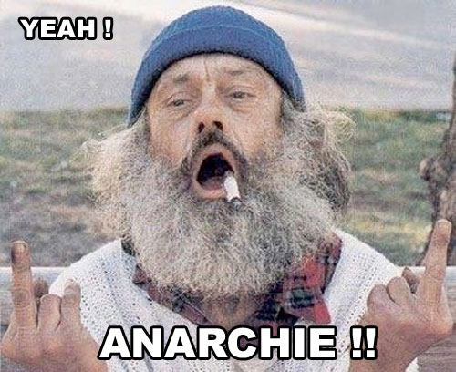 Publicité pourrie clodo anarchie